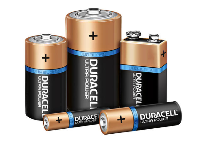 Batterij Duracell Ultra Power 12xAAA alkaline 3
