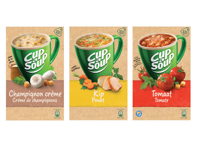 Cup-a-soup spicy tomatensoep 21 zakjes 4