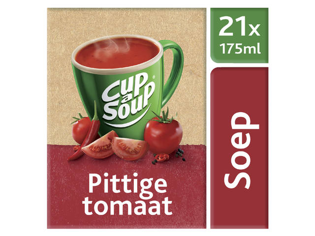 Cup-a-soup spicy tomatensoep 21 zakjes 1