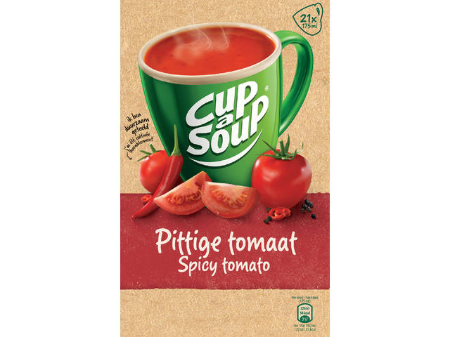 Cup-a-soup spicy tomatensoep 21 zakjes 2