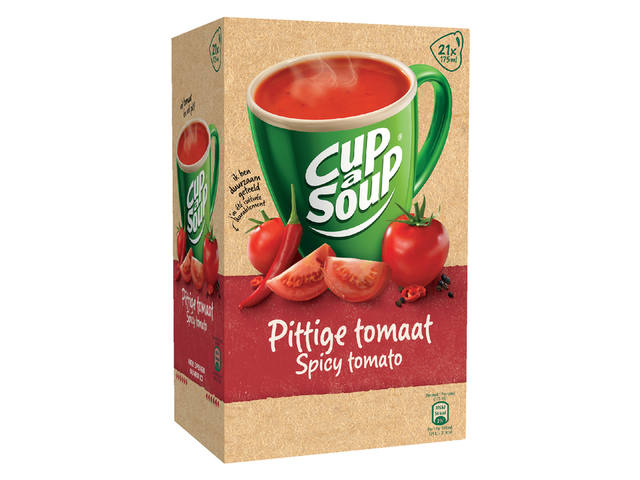 Cup-a-soup spicy tomatensoep 21 zakjes 3