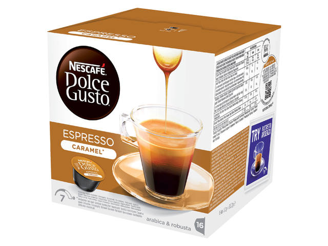 Koffie Dolce Gusto Espresso Caramel 16 cups 4