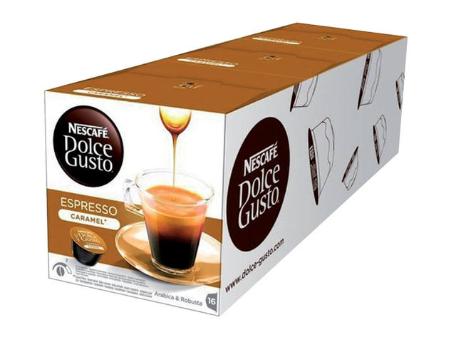 Koffie Dolce Gusto Espresso Caramel 16 cups 3