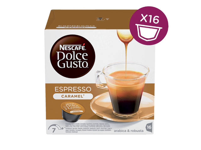 Koffie Dolce Gusto Espresso Caramel 16 cups 1