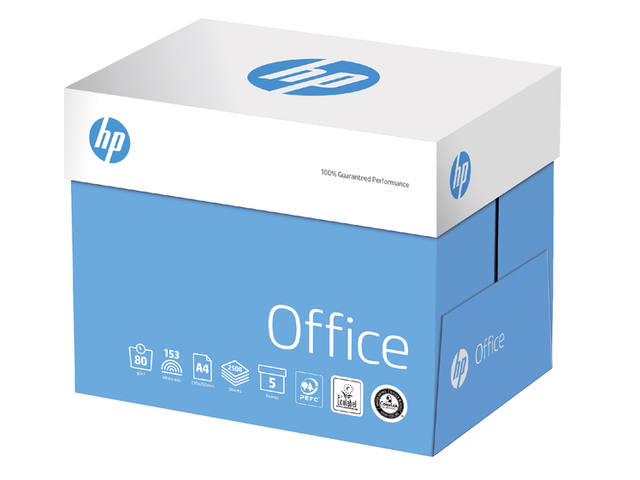 Kopieerpapier HP Office A4 80gr wit 500vel 4
